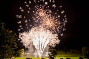 Merlin Wedding Fireworks - Mr & Mrs Stevens Photography by Paul Wilkinson Photography Ltd.