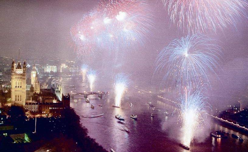 London Millennium Celebrations 31st December 1999