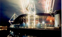 Spectacular Fireworks for the AXA Skyfest Cardiff