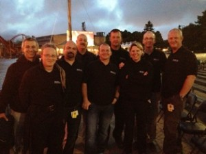 Team Merlin Firework Display Technicians at the Montreal L'International des Feux Loto-Québec