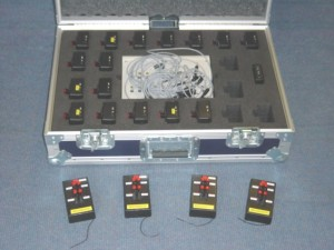4 Channel radio control Firing System for Pyrotechnics